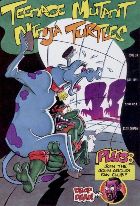 02 Teenage Mutant Ninja Turtles (vol. 1) #38 (July 1991)