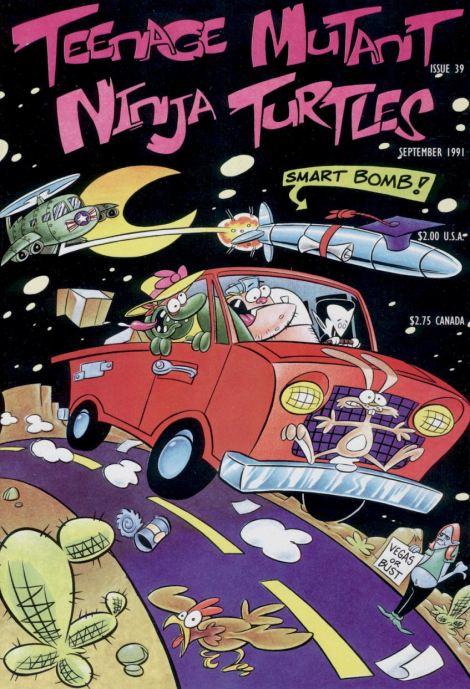 03 Teenage Mutant Ninja Turtles (vol. 1) #39 (September 1991)