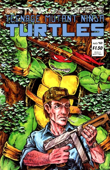 04 Teenage Mutant Ninja Turtles (vol. 1) #12 (September 1987)