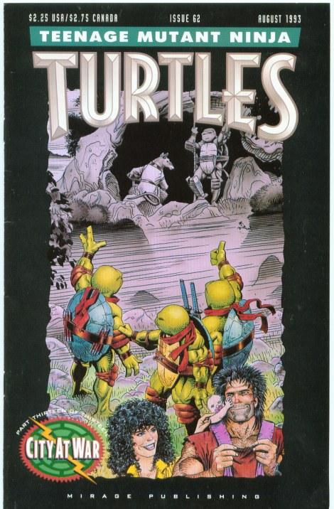 05 Teenage Mutant Ninja Turtles (vol. 1) #62 (August 1993)