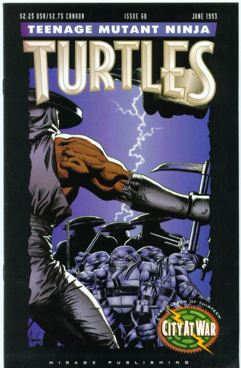 06 Teenage Mutant Ninja Turtles (vol. 1) #60 (June 1993)