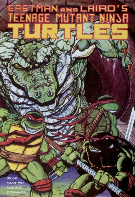 07 Teenage Mutant Ninja Turtles (vol. 1) #45 (March 1992)