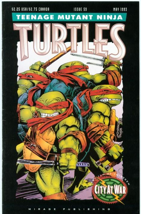 07 Teenage Mutant Ninja Turtles (vol. 1) #59 (May 1993)