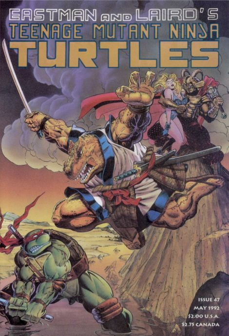 08 Teenage Mutant Ninja Turtles (vol. 1) #47 (May 1992)