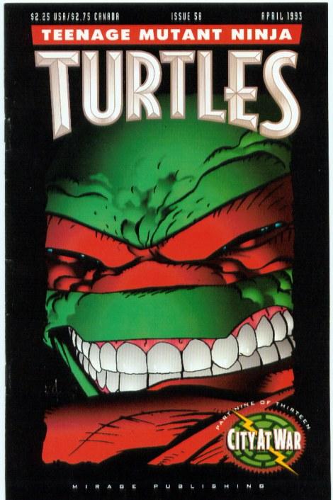 08 Teenage Mutant Ninja Turtles (vol. 1) #58 (April 1993)