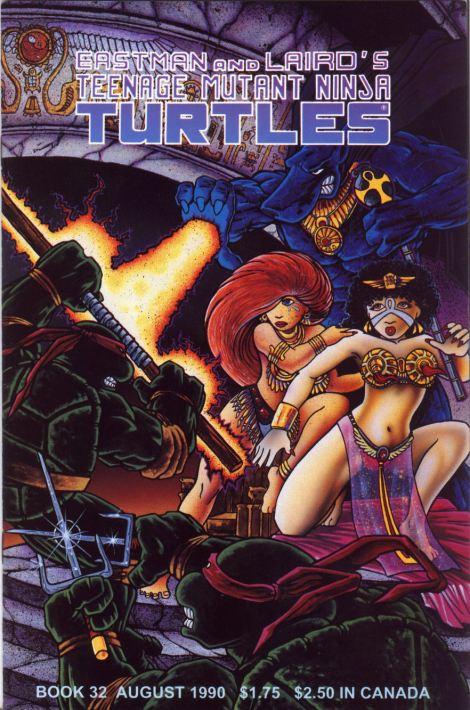 09 Teenage Mutant Ninja Turtles (vol. 1) #32 (August 1990)