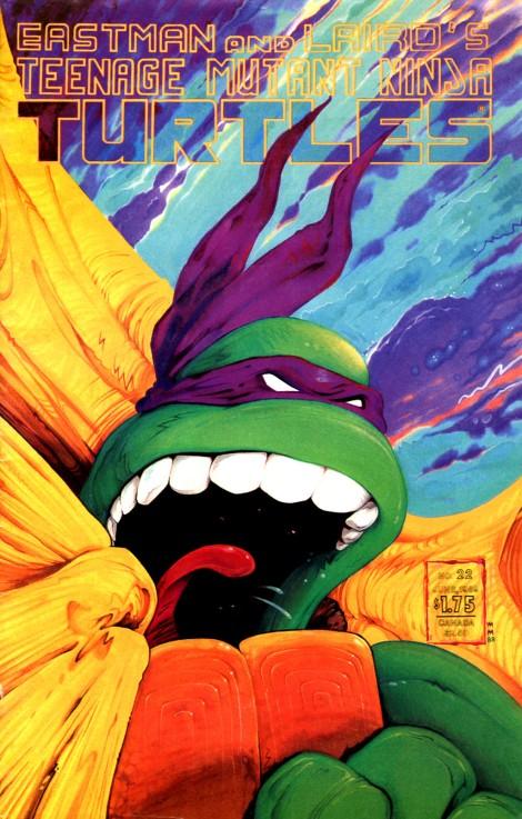 10 Teenage Mutant Ninja Turtles (vol. 1) #23 (July 1989)