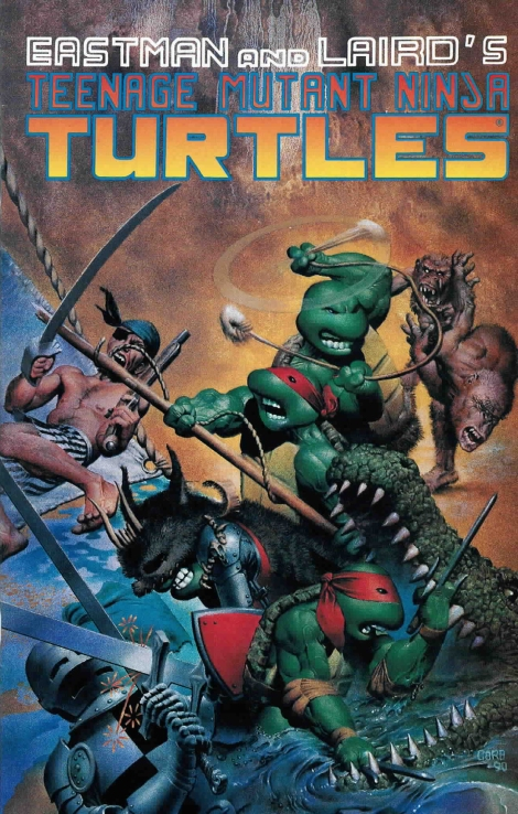 10 Teenage Mutant Ninja Turtles (vol. 1) #33 (June 1990)