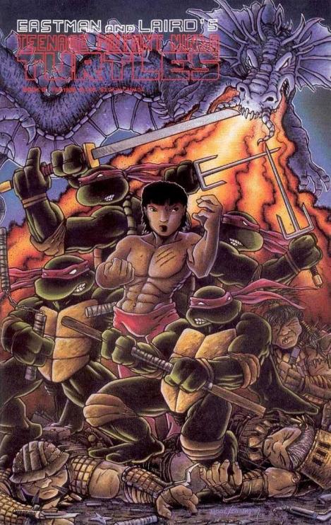 11 Teenage Mutant Ninja Turtles (vol. 1) #18 (February 1989)