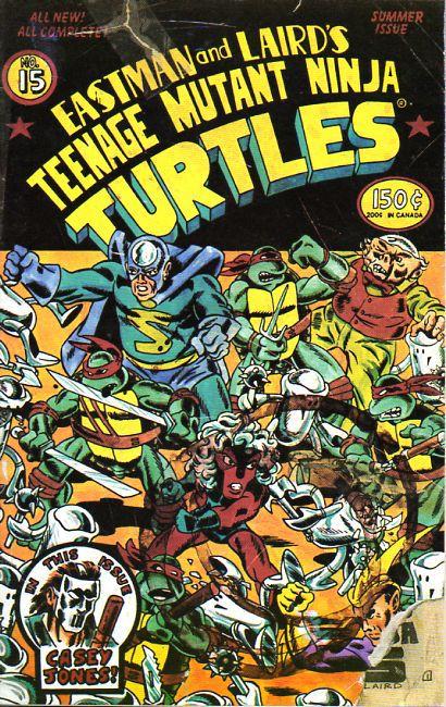 12 Teenage Mutant Ninja Turtles (vol. 1) #15 (August 1988)