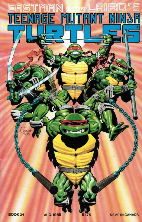 12 Teenage Mutant Ninja Turtles (vol. 1) #24 (August 1989)