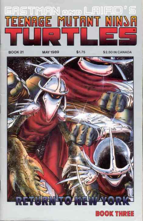 13 Teenage Mutant Ninja Turtles (vol. 1) #21 (May 1989)
