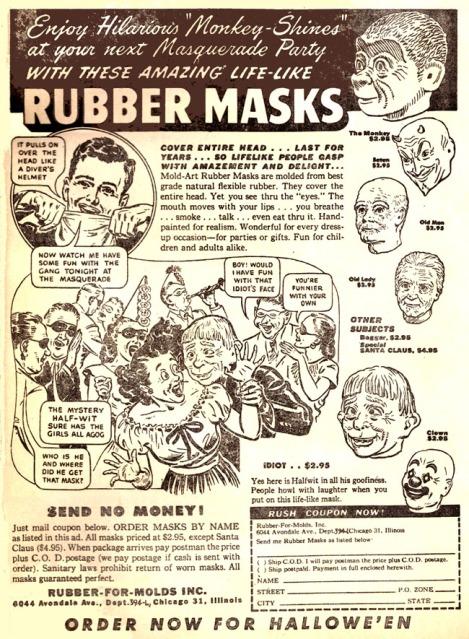 rubbermasks