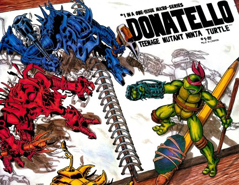 01 Donatello - Teenage Mutant Ninja Turtle #1 (June 1986)