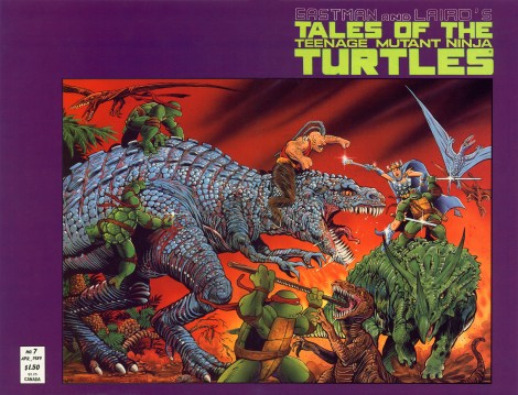 02 Tales of the Teenage Mutant Ninja Turtles (vol. 1) #7 (August 1989)