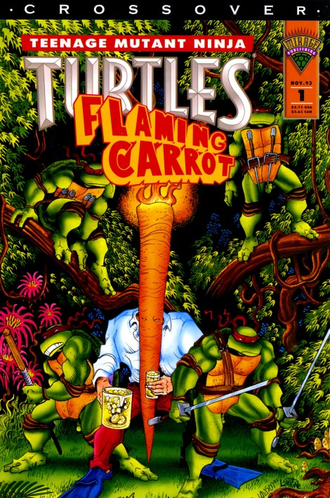 05 Teenage Mutant Ninja Turtles & Flaming Carrot Crossover #1 (November 1993)