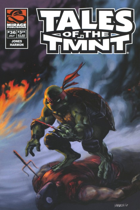 08 Tales of the TMNT (vol. 2) #36 (July 2007)