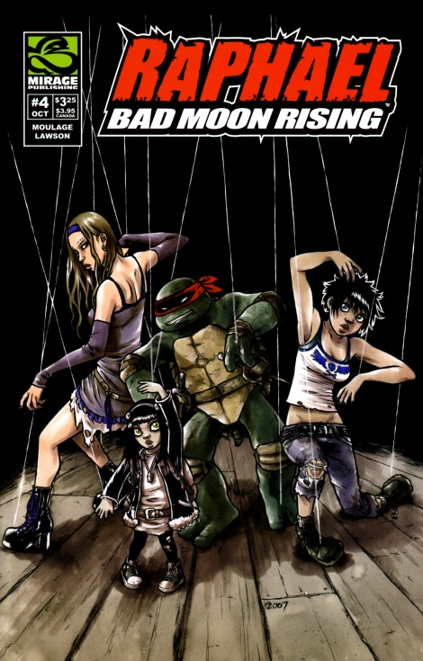 13 Raphael - Bad Moon Rising #4 (October 2007)