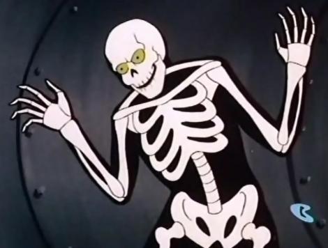 Latający szkielet