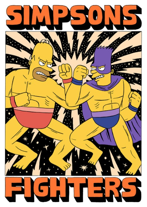 simpsons fighters