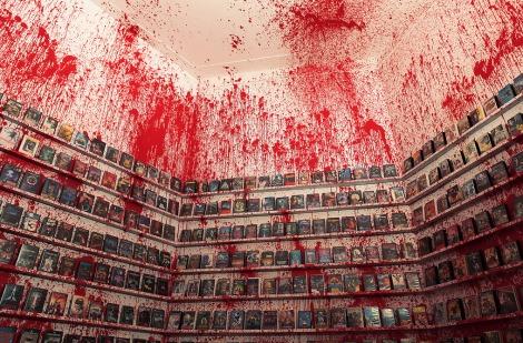 VHS Hell - instalacja Krystiana Kujdy i Maurycego Gomulickiego | Warszawa | Foto: Maurycy Gomulicki